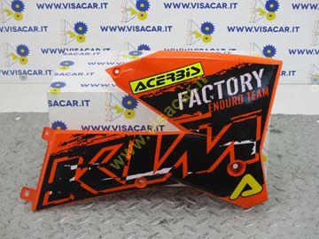Immagine di CARENA LATERALE DX MOTO KTM EXC 250 -2007-