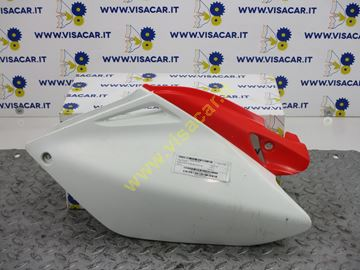 Immagine di CARENA POSTERIORE LATERALE SX MOTO HONDA CRF-HM 250R CROSS -2008-