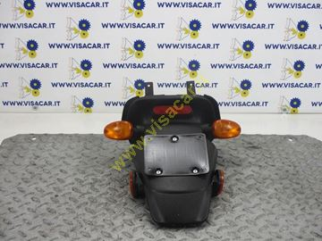 Immagine di PARAFANGO POSTERIORE MOTO CON PORTA TARGA MALAGUTI PHANTOM F12 50 -2011-