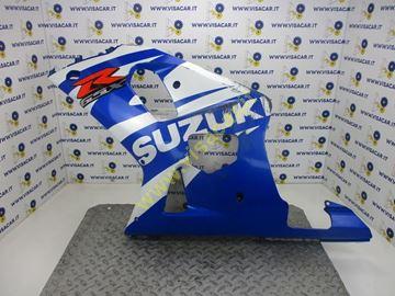 Immagine di CARENA LATERALE SX MOTO SUZUKI GSX R 750 -2003-