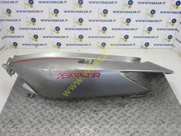 Immagine di CARENA POSTERIORE LATERALE SX MOTO KYMCO XCITING R 300 I -2008-