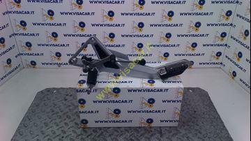 Immagine di PIASTRA APPOGGIAPIEDE ANTERIORE SX MOTO HONDA HORNET CB 600 F -2004-