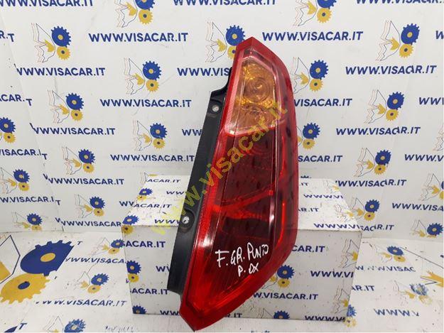 Immagine di FANALE POSTERIORE DX FIAT GRANDE PUNTO (2Y) (06/05>12/08