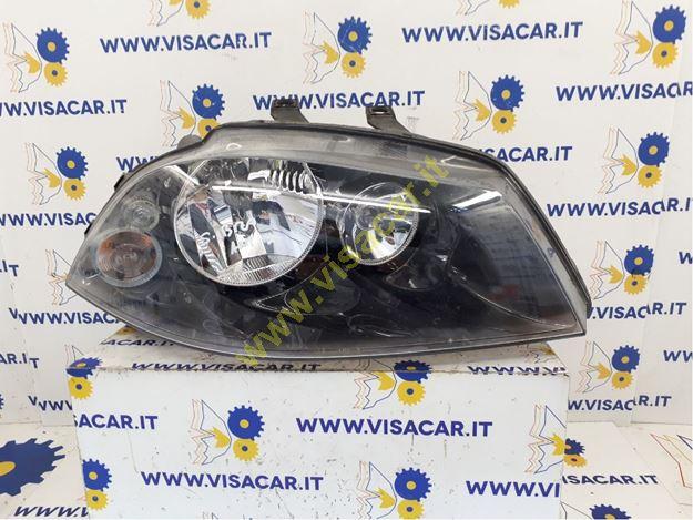 Immagine di FANALE ANTERIORE DX SEAT IBIZA (6L) (12/01>08/09<)